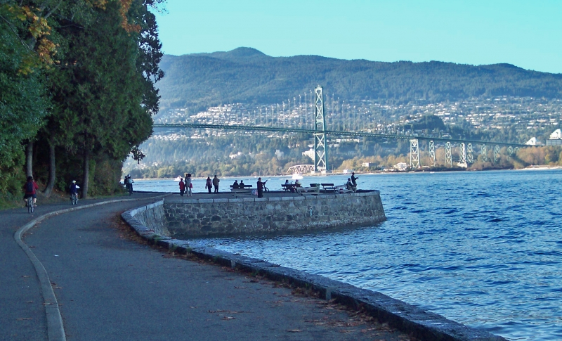 Stanley Park Seawall Bike Route Cycle Bc Rentals Tours